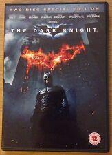 THE DARK KNIGHT DVD Christian Bale Batman (Region 2) 2 Disc Edition
