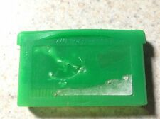 POKEMON: LEAF GREEN Authentic Real GAMEBOY ADVANCE GBA good battery saves