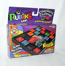 Rare Rubik's Checkers Challenge by Winning Moves Games New