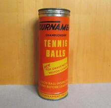 Vintage Tournament Championship Tennis Ball Original Metal Can Advertising Czech