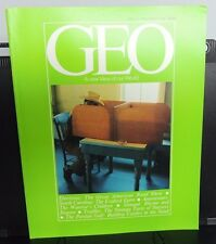 GEO: A New View of Our World ~ NOVEMBER 1980 issue - vol. 2, no. 11