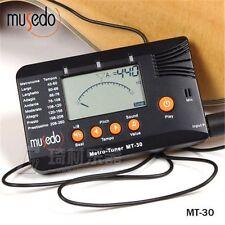 Musedo MT-30 Metro-Tuner 3-in-1 Tuner, Metronome Tone Generator for Guitar