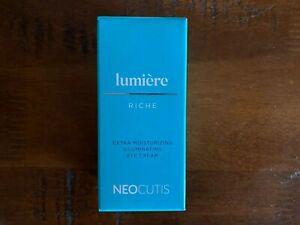 Neo Cutis  Lumiere Riche Extra Moisturizing illuminating eye cream, 0.5 oz,Fresh