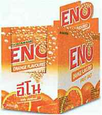 24 PCS Eno Fruit Salt Antacid Instant Acidity Relief ORANGE Flavour 4.3 g