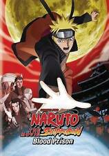Naruto: Shippuden - The Movie: Blood Prison (DVD, 2014)