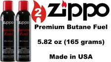 Large Zippo 2X Red Can Premium Butane Fuel 5.82oz/165gm Latest Model Made in USA