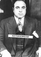 AL CAPONE Sharp Photo 8x10 Glossy High Quality REPRINT Great Mafia Mob Wall Art
