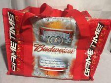 Detroit Lions Budweiser Gametime Artic Pack 20 Longneck Bottle Cooler