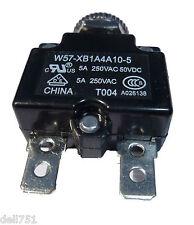 Fusible con restablecimiento Térmica Interruptor/(disponible en 5,10,15, 20 y 30 Amp)