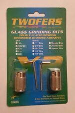 "$19.99 Aanraku Twofer price of 1 WoW! Glass Grinding Bit 3/4"" 100/120 grit"