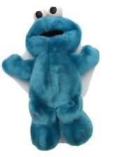 """Sesame Street Cookie Monster - Talking Laughing Soft Plush Toy - Tyco 1996 12"""""""