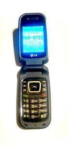 LG  LGMS450  Blue Verizon Flip Cellular Phone  Super Fast Shipping