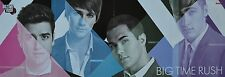 BIG TIME RUSH - Wallpaper Poster (ca. 80 x 28 cm) - Clippings Fan Sammlung NEU