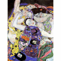 Klimt The Maiden 1913 Large Wall Art Print 18X24 In