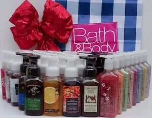 Bath & Body Works Gentle Foaming & Creamy Luxe Hand Soaps Full Size **You Pick**