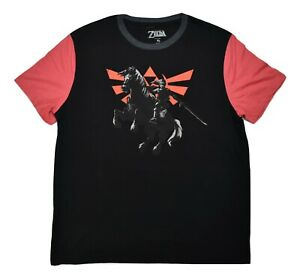 Legend Of Zelda Mens Epona Horse & Link Shirt New S, M, L, XL
