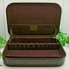 Marshall White  CAMEO Sterling Silverplate Flatware Storage Chest Case Box 16+