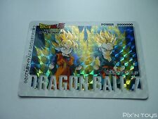 Carte originale Dragon Ball Z PP Card N°1084 Prism Hard / 1994 Made in Japan