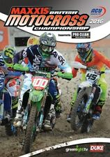 British Motocross Championship - Official review 2016 New DVD Motorcross Motox