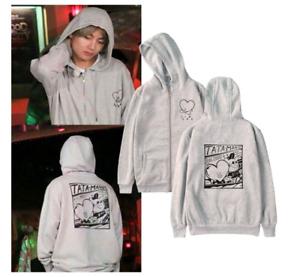 BTS Taehyung Hoodie Kapuzenpullover V TATA Sweater Sweatshirt  Kpop Pullover