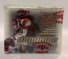 2000 Fleer Dominion WNBA Basketball (36 packs) Card Box factory sealed