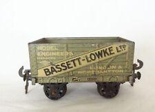 058A: Vintage O Gauge Carette for Bassett Lowke Open Wagon Cat No.13413-36
