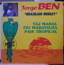 """JORGE BEN  """"BRASILIAN MEDLEY"""" FRENCH SP CLEVER 1989"""