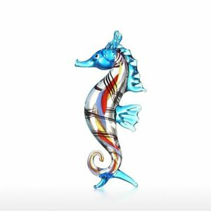 Little Seahorse Craft Handmade Blown Glass Art Home Decor Kit Wild Life Figurine