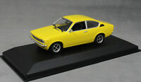 Minichamps Maxichamps Opel Kadett C Coupe in Yellow 1974 940045620 1/43 NEW