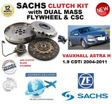FOR VAUXHALL ASTRA H 1.9 CDTi CLUTCH KIT 2004-2011 SACHS with FLYWHEEL CSC BOLTS