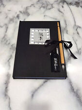 Hardcover Blank Journal with Calligraphy Pen & Ink Set Stuart Houghton Feng-Shui