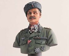 Legend Productions 200mm German Cossack Colonel WWII Bust with Base LF2103