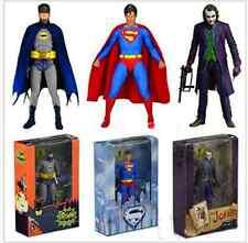 7''NECA Action Figure DC Dark Knight Batman Superman The Joker Comics Hero Toys