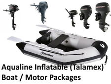NEW Talamex Aqualine Inflatable Boat - Motor Packages RIB SIB Sun Sport Outboard