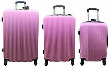 """20"""" 24"""" 28"""" Hard Shell Cabin Suitcase 4 Wheel Luggage Spinner Lightweight"""