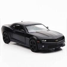 1:36 Chevrolet Camaro Model Car Diecast Gift Toy Vehicle Kids Pull Back Black