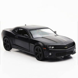 1:36 Chevrolet Camaro Model Car Diecast Toy Vehicle Gift Kids Pull Back Black