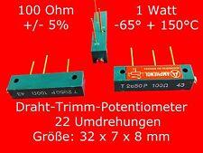 Amphenol Spindeltrimmer 100/250/500 Ohm/1K-Ohm Passive Bauelemente Potenziometer