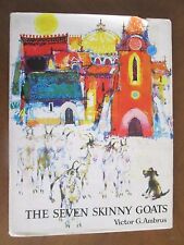 THE SEVEN SKINNY GOATS by Victor G. Ambrus 1970 1st Am Ed HBDJ