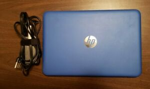 HP STREAM NOTEBOOK PC 11-d010nr  with OEM Charger & Windows 10 (RTL8723BE)