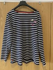 Joules Striped Top Size 14 Worn Once