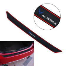 Rubber Car Rear Bumper Cover Sticker Scuff Guard US Air Force Type Self-adhesive