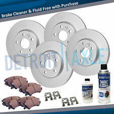 2006 2007 2008 - 2010 CHEVY IMPALA MONTE CARLO Front & Rear Rotor & Ceramic Pads