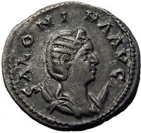 SALONINA wife of Gallienus 256AD Rome Authentic Ancient Silver Roman Coin i65336