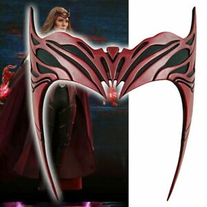 Wanda Headband Vision Scarlet Witch Crown Headpiece Mask Cosplay Party Prop Hot