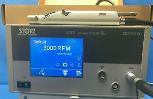 Karl Storz Powershaver SL 20721020 Console W/ Handpiece 28721035 Control Buttons