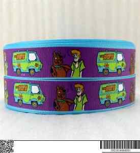 """Scooby Doo Ribbon 1"""" Wide NEW UK SELLER FREE P&P"""