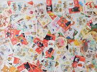 STAMP JAPAN POSUKUMA character 100pcs lot OFF paper philatelic collection