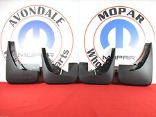 Dodge Journey  Molded Front & Rear Splash Guards NEW OEM MOPAR