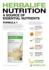 Herbalife - Formula 1 - Vanilla Nutritional Shake